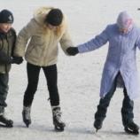 Покататься на коньках можно на стадионе «Свема»