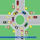 Як правильно переїжджати перехрестя з круговим рухом у Шостці?