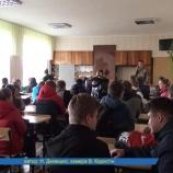 Зустріч з воїнами АТО у Шосткинському вищому професійному училищі