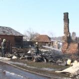 В Макове пожар унес жизни трех человек