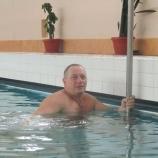 Прошел чемпионат города по плаванию среди  опорников