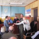 В Шосткинському міськвідділі міліції вшановували ліквідаторів аварії на Чорнобильській АЕС