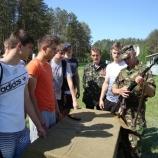 Школьники учились служить Родине