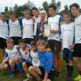 Команда школы №5 стала лучшей на этапе Кубка школьного футбола