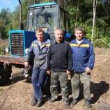 Хранители леса отмечают профессиональный праздник