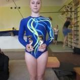 Наша акробатка успешно   выступила на Кубке Украины