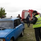 В Десне утонул автомобиль с 6 людьми.  Есть жертвы