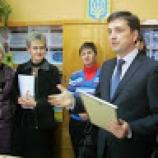 Гимназия получила приз от «Приватбанка»