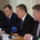 Первая рабочая поездка нового губернатора - в Шостку