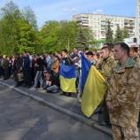 В Шостке прошел митинг несогласия  с назначением ярого регионала на  должность директора оборонного завода