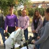 Шосткинські студенти передали необхідні кошти на лікування 3-місячної Злати Єрко
